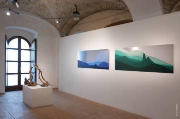 Giovanni Longo, Fragile Landscapes, installation view